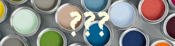 vragen over verf
