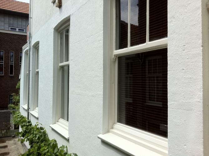 Buitenmuur verven alles over verven van de buitenmuur for Huis voor na exterieur renovaties