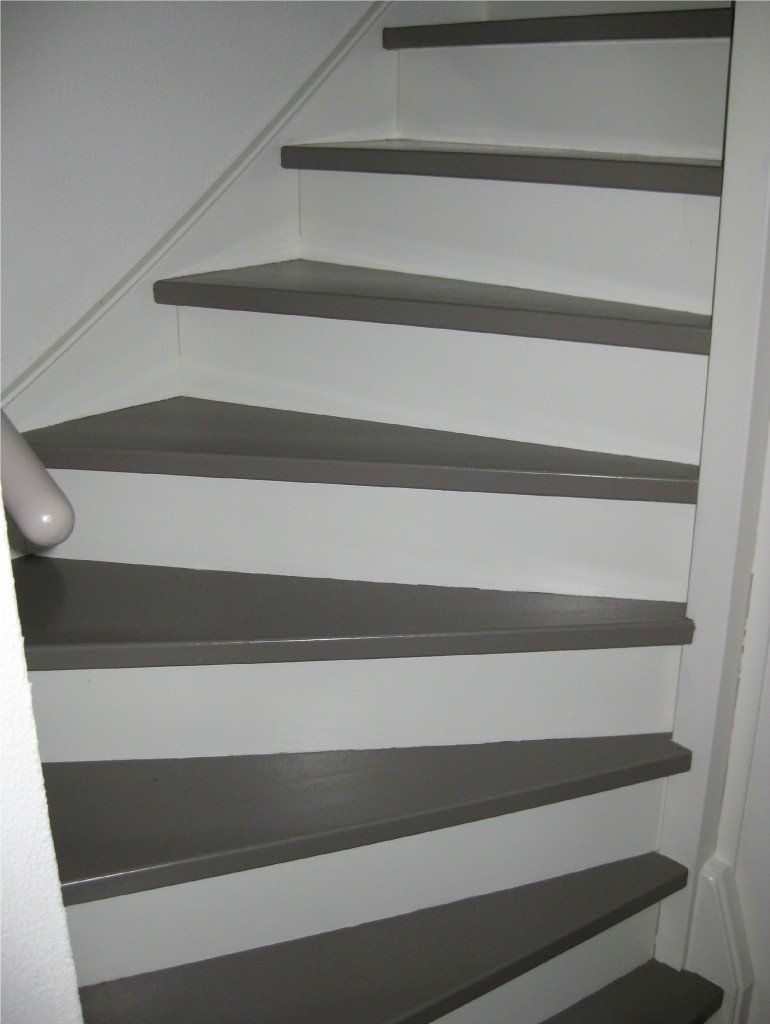 Trap verven op alle vragen over je trap verven antwoord - Geschilderde houten trap ...